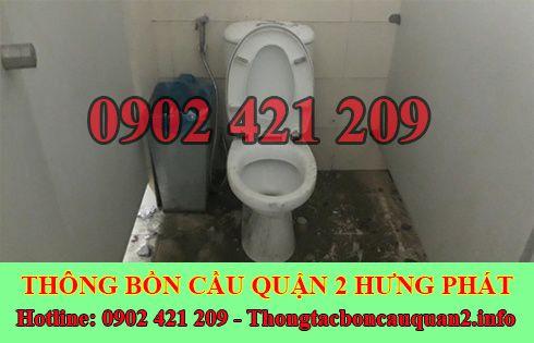 Thông bồn cầu bị tắc băng vệ sinh bảo hành lâu LH 0902421209