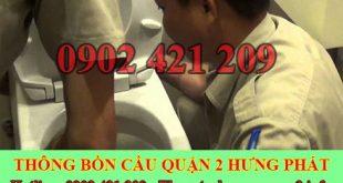 Cách xử lý bồn cầu toilet dội nước không xuống gọi 0909996752