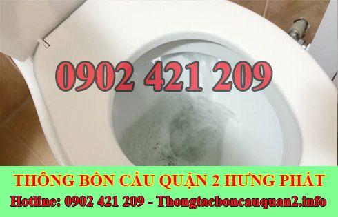 Cách xử lý bồn cầu rút thoát nước chậm gọi 0902421209