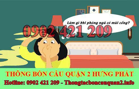 Dịch vụ xử lý mùi hôi nhà vệ sinh Quận 2 Hưng Phát