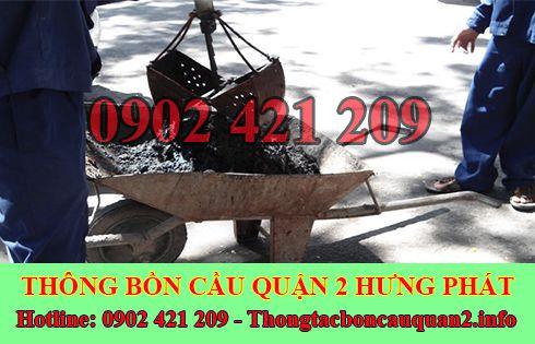 Dịch vụ nạo vét hố ga quận 2 Hưng Phát