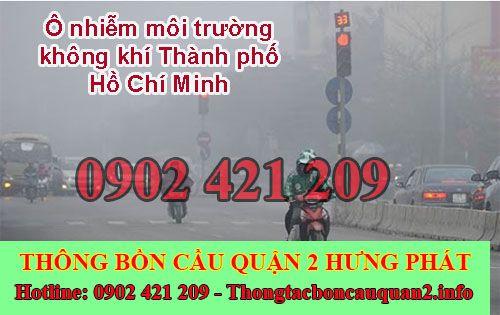 Ô nhiễm môi trường không khí Thành phố Hồ Chí Minh